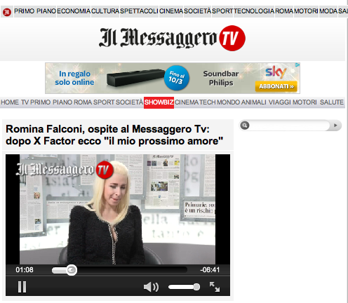 IlMessaggero.tv 04.02.14